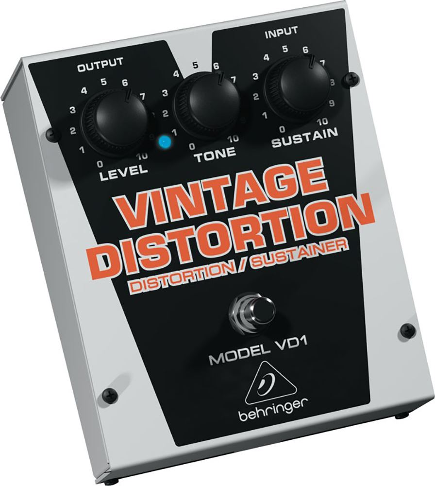 картинка Behringer VD1 Vintage Distortion от магазина Multimusic