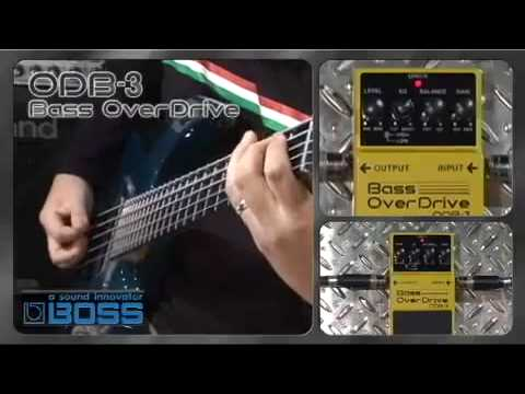 картинка Boss ODB-3 Bass Overdrive от магазина Multimusic