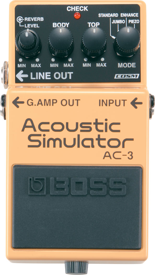 картинка Boss AC-3 Acoustic Simulator от магазина Multimusic