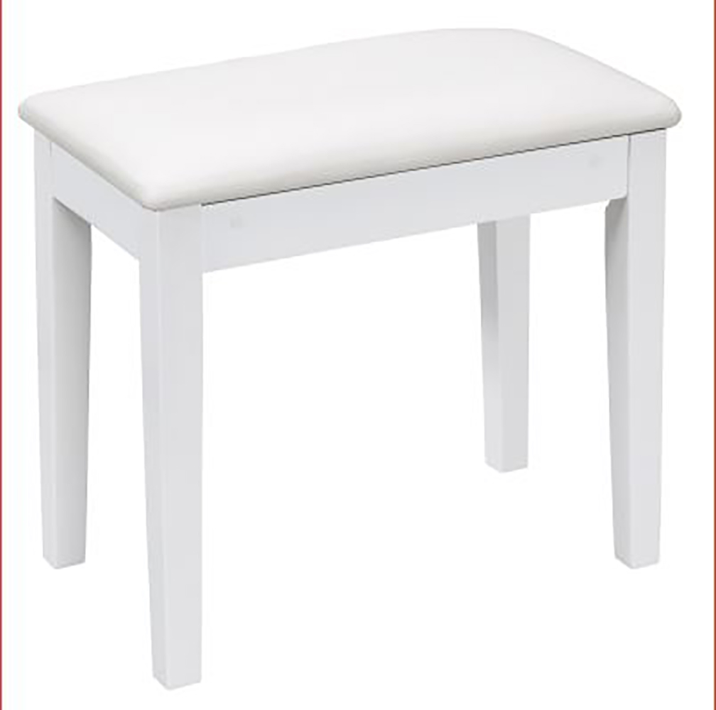 картинка ORLA Bench White Lacquer от магазина Multimusic