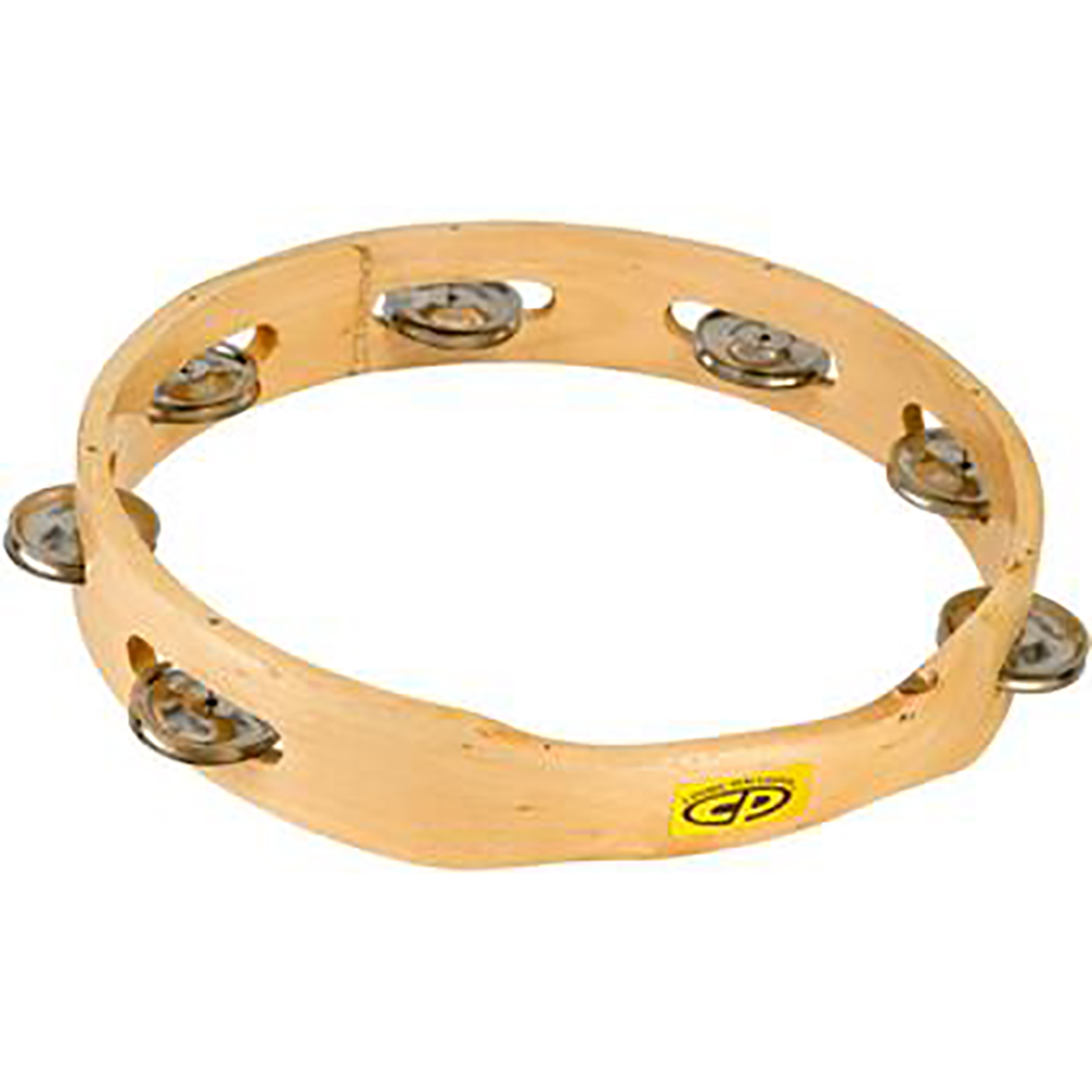 картинка Latin Percussion CP389 Wood Tambourine от магазина Multimusic