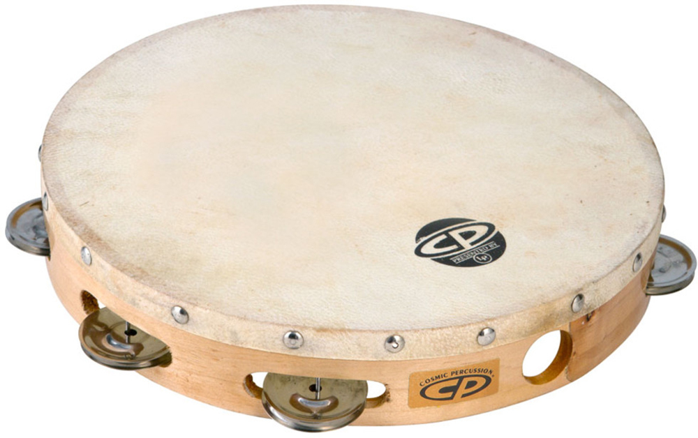картинка Latin Percussion CP379 Wood Tambourine от магазина Multimusic
