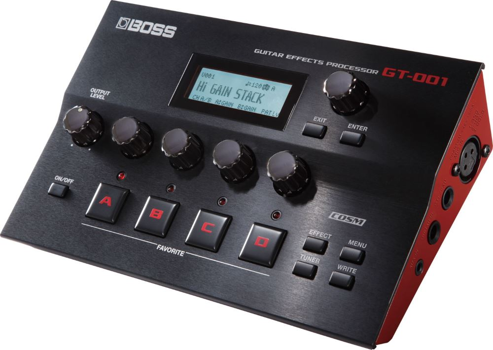 картинка Boss GT-001 Guitar Effects Processor от магазина Multimusic