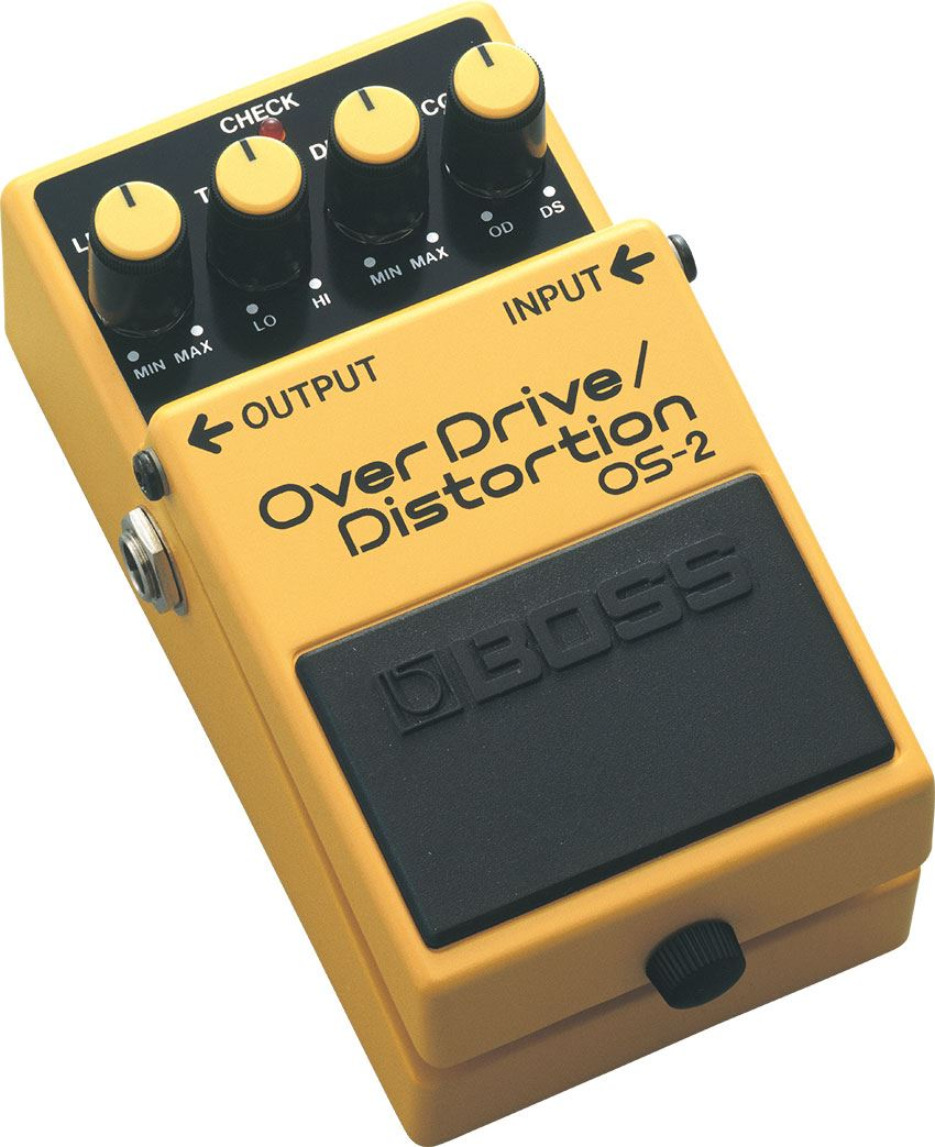 картинка Boss OS-2 OverDrive/Distortion от магазина Multimusic