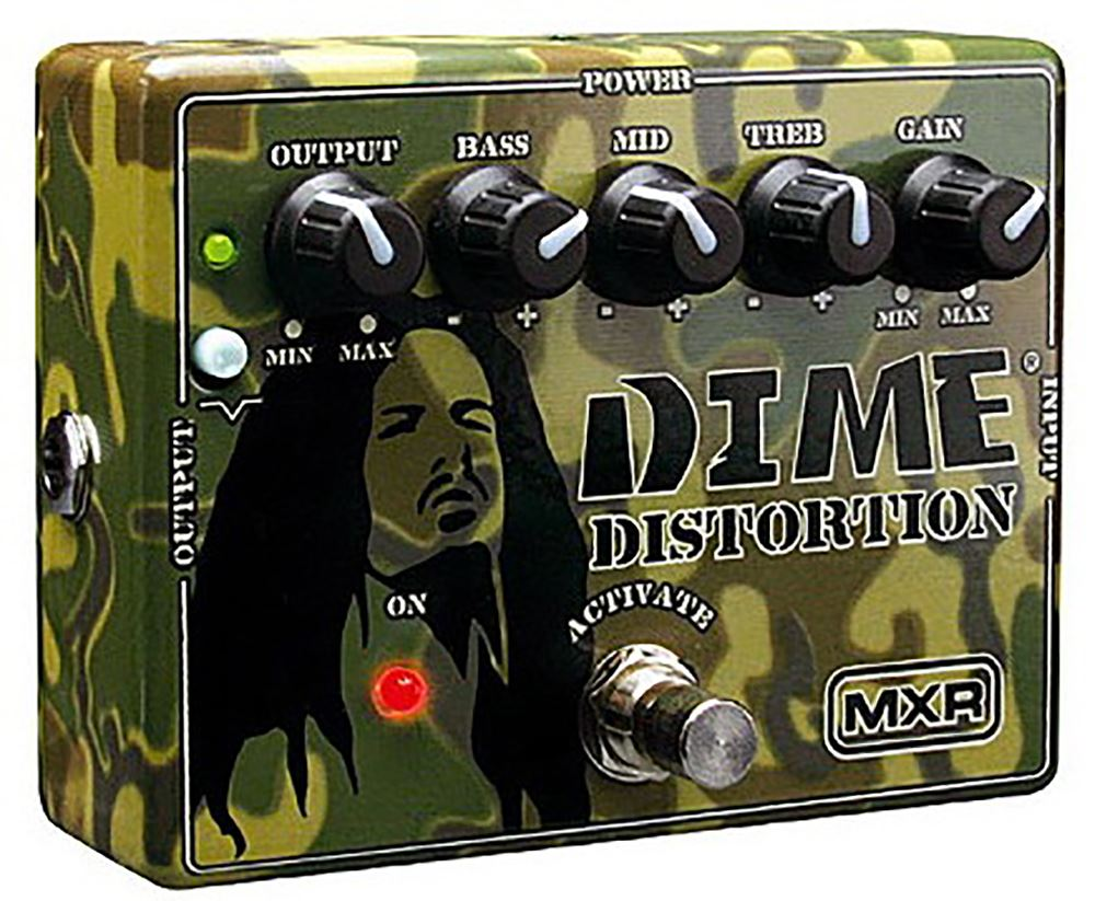 картинка MXR DD11EU Dime Distortion от магазина Multimusic