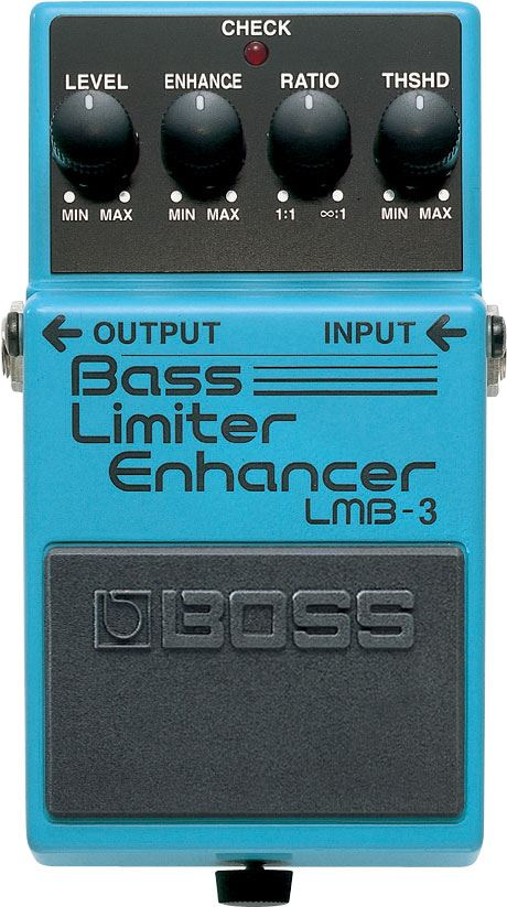 картинка Boss LMB-3 Bass Limiter Enhancer от магазина Multimusic