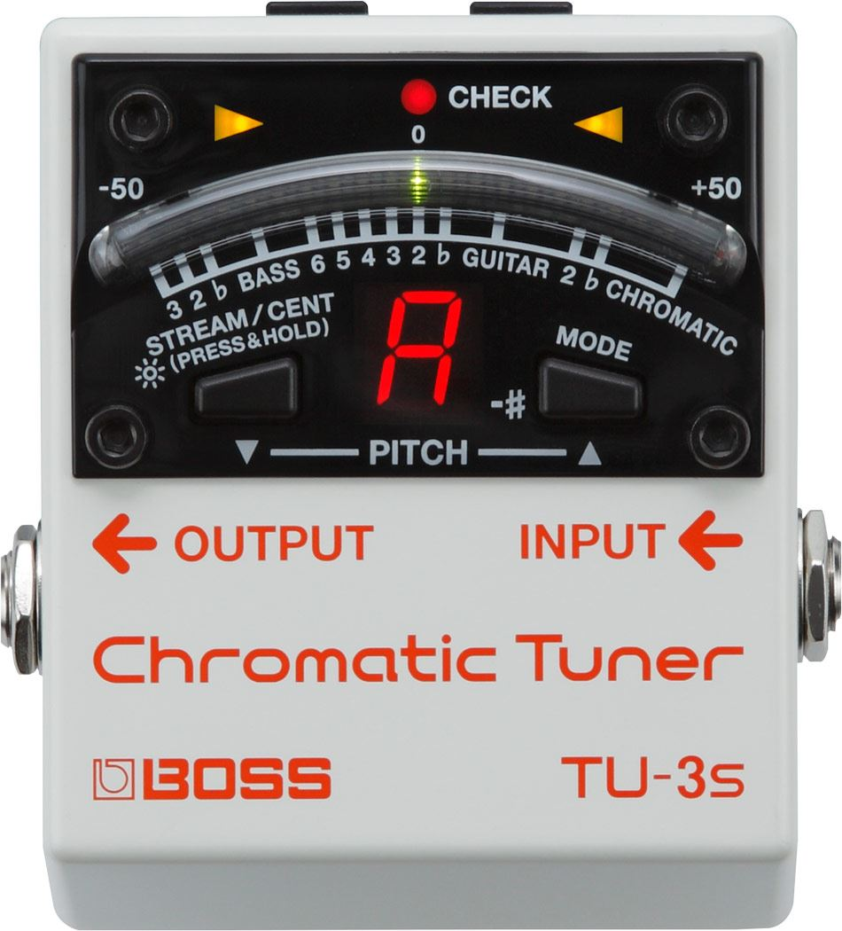 картинка Boss TU-3S Chromatic Tuner от магазина Multimusic