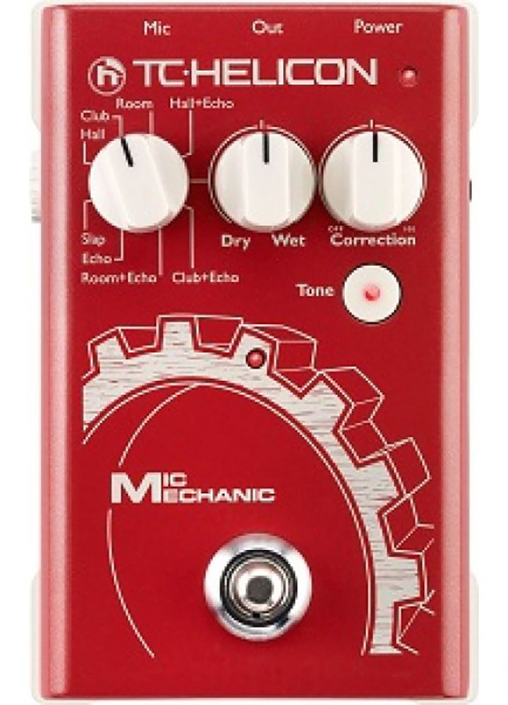 картинка TC Helicon VoiceTone Mic Mechanic от магазина Multimusic