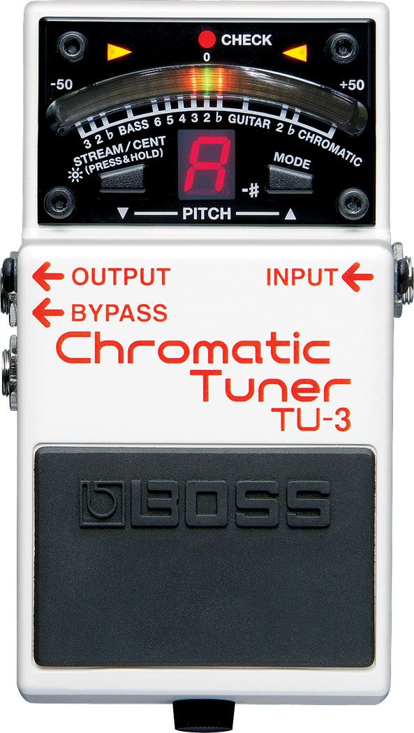 картинка Boss TU-3 Chromatic Tuner от магазина Multimusic