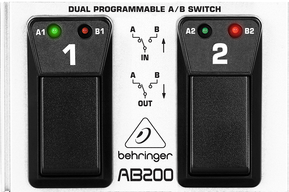 картинка Behringer AB200 Dual A/B Switch от магазина Multimusic