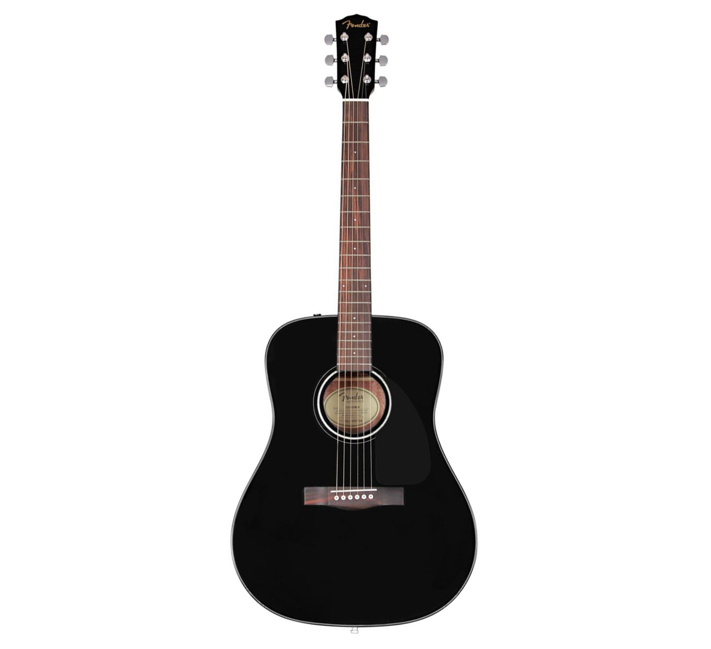картинка Fender CD-60 Dreadnought Black от магазина Multimusic