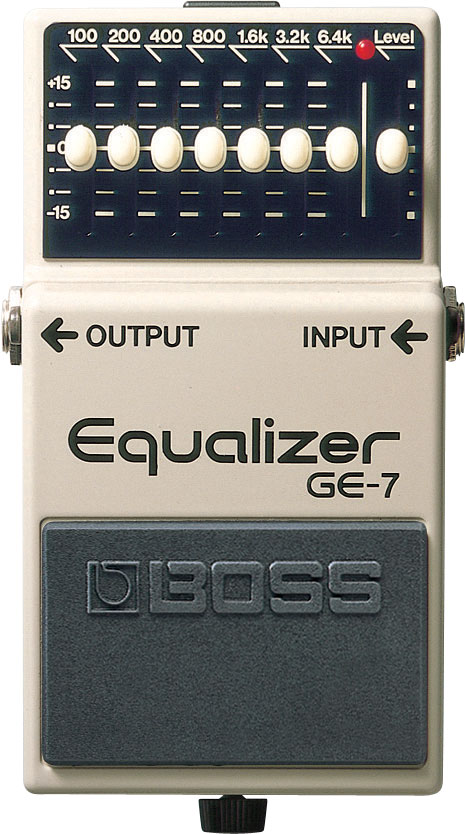 картинка Boss GE-7 Equalizer от магазина Multimusic