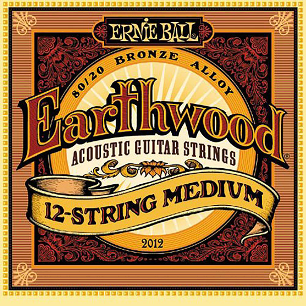 картинка Ernie Ball 2012 Earthwood 12-string Medium 11-52 от магазина Multimusic