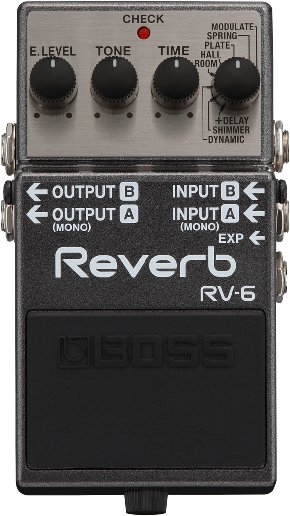 картинка Boss RV-6 Digital Reverb от магазина Multimusic