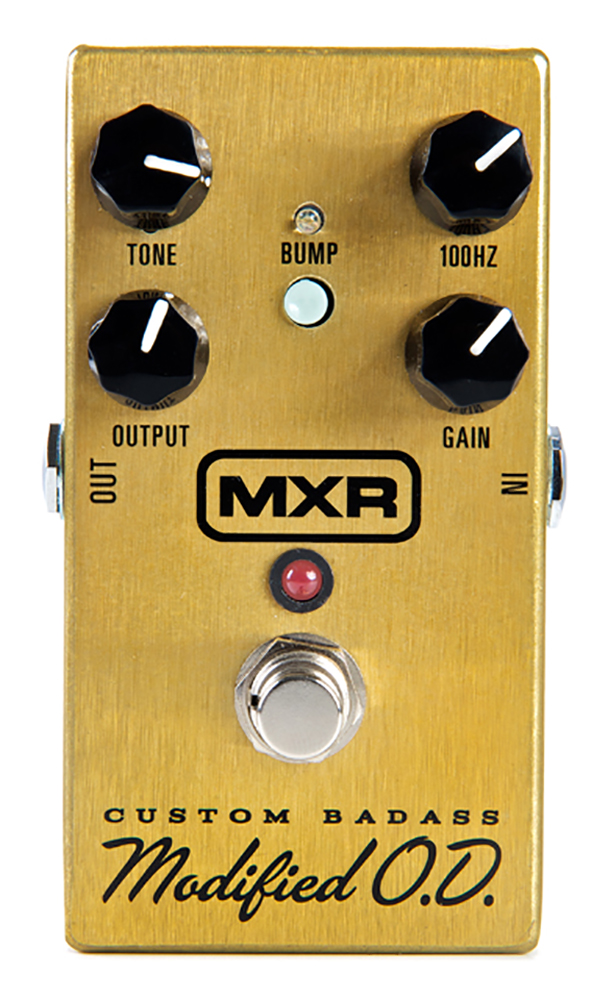 картинка MXR М77 Custom Badass Modified Overdrive от магазина Multimusic