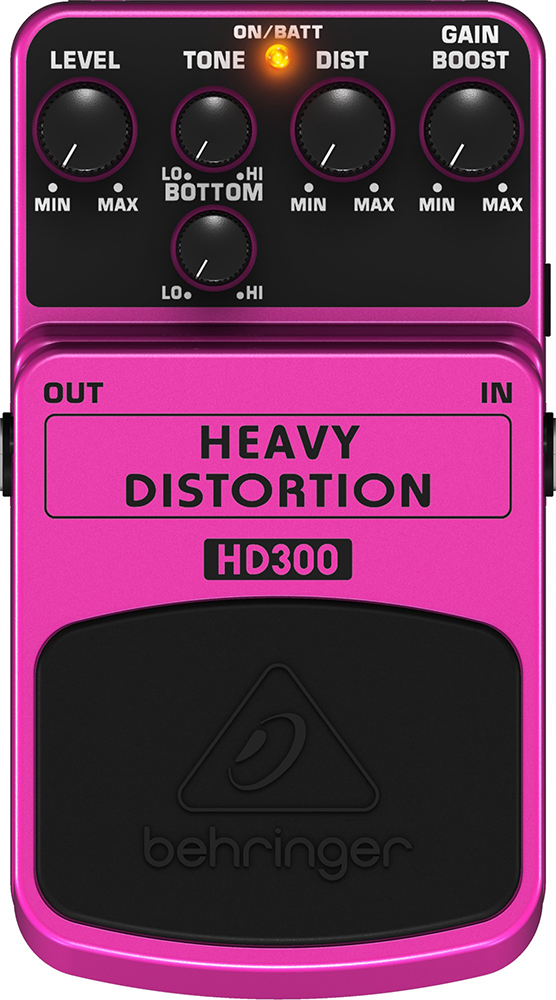 картинка Behringer HD300 Heavy Distortion от магазина Multimusic