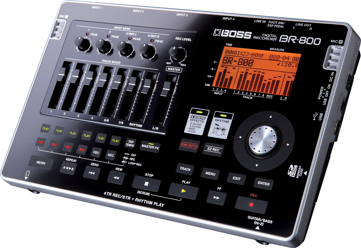 картинка Boss BR-800 Digital Recorder от магазина Multimusic