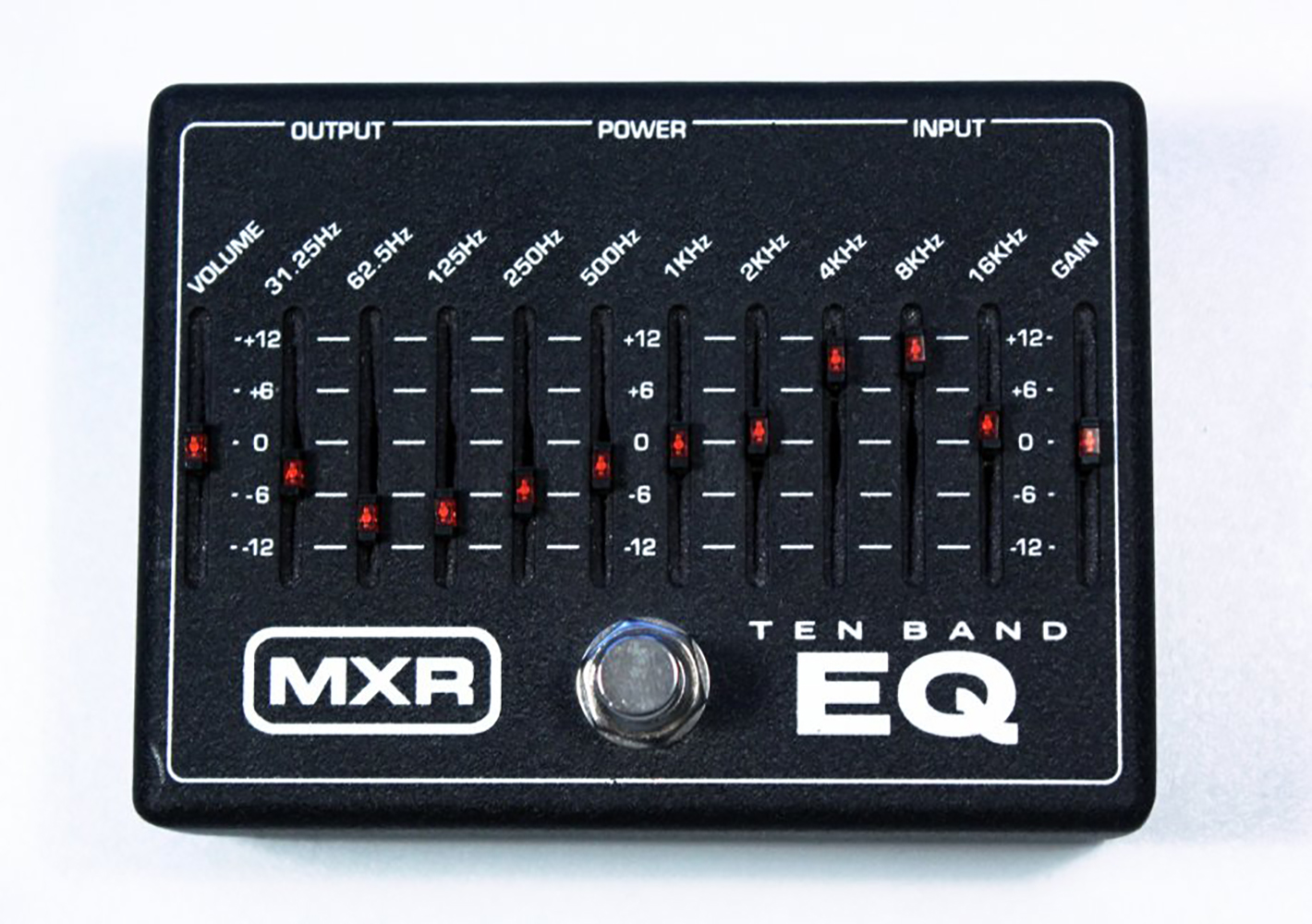 картинка MXR M108 10-Band Graphic EQ от магазина Multimusic