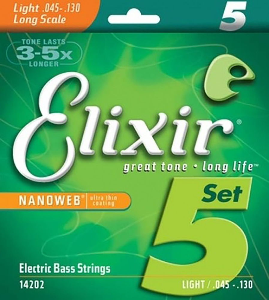 картинка Elixir 14202 Electric Bass Strings 45-130 от магазина Multimusic