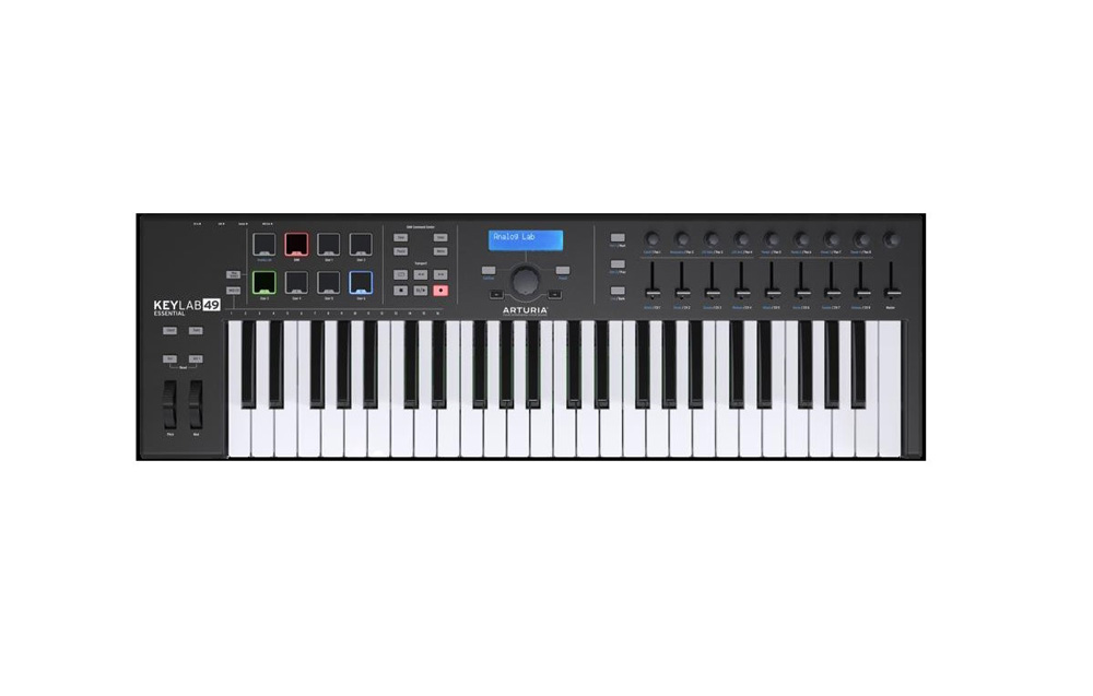 картинка Arturia KeyLab Essential 49 Black Edition от магазина Multimusic