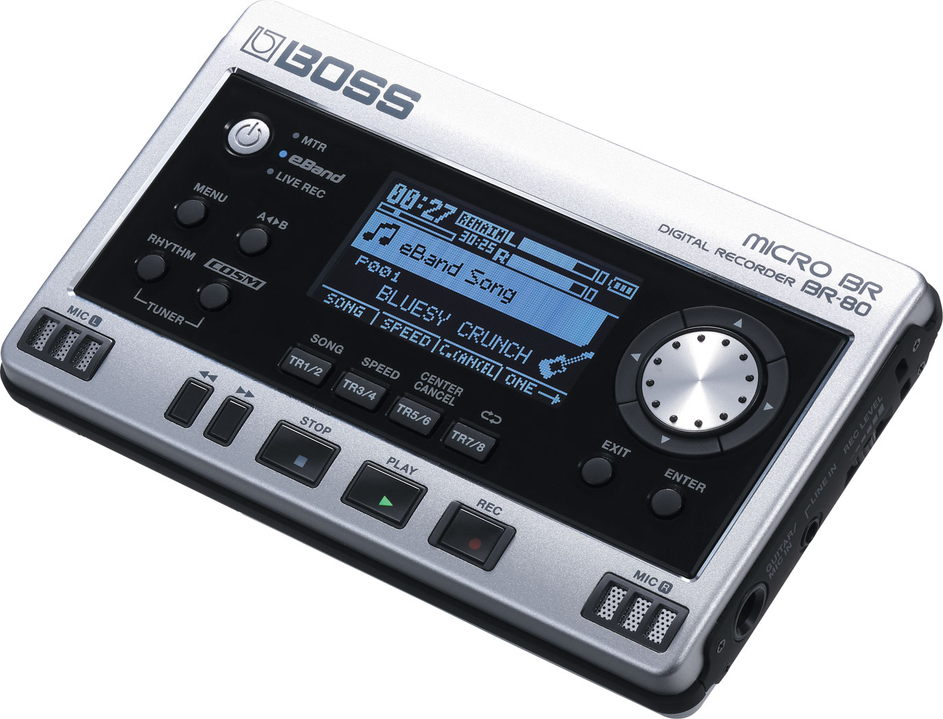 картинка Boss BR-80 Digital Recorder от магазина Multimusic