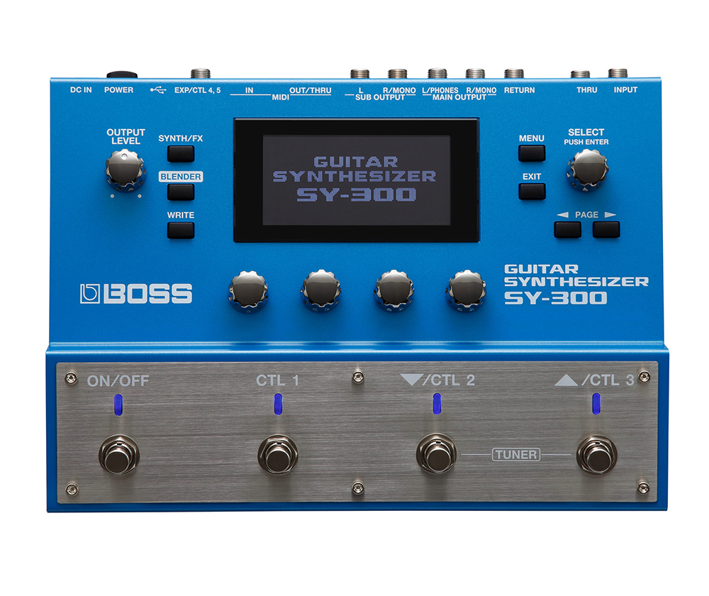 картинка Boss SY-300 Guitar Synthesizer от магазина Multimusic