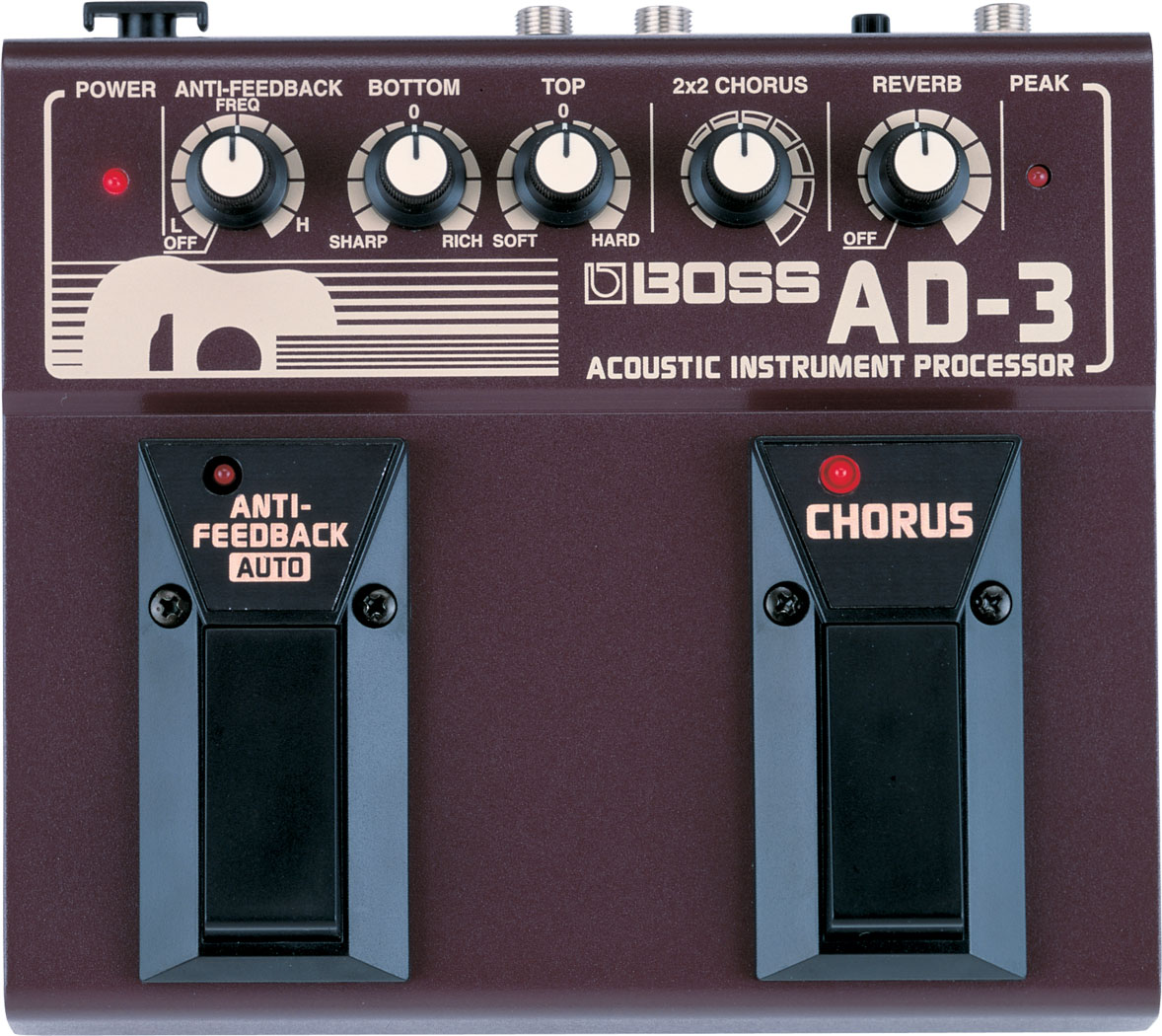 картинка Boss AD-3 Acoustic Instrument Processor от магазина Multimusic