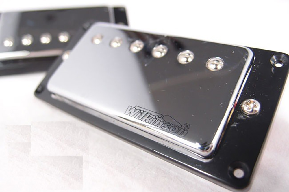 картинка Wilkinson WVCBCR Humbucker Chrome Bridge от магазина Multimusic