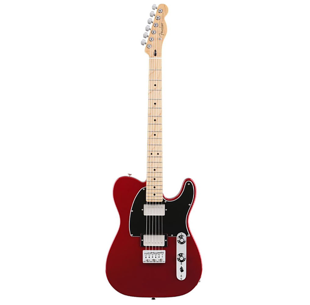 картинка Fender Blacktop Tele HH MN Candy Apple Red от магазина Multimusic