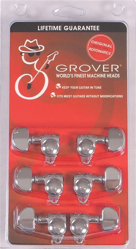картинка Grover GTR M/Head Set Chrome 102C от магазина Multimusic