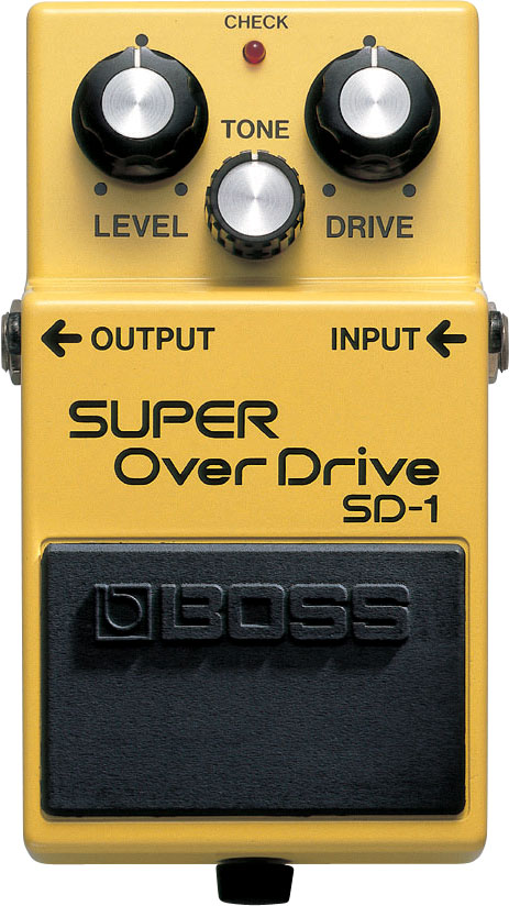 картинка Boss SD-1 Super OverDrive от магазина Multimusic