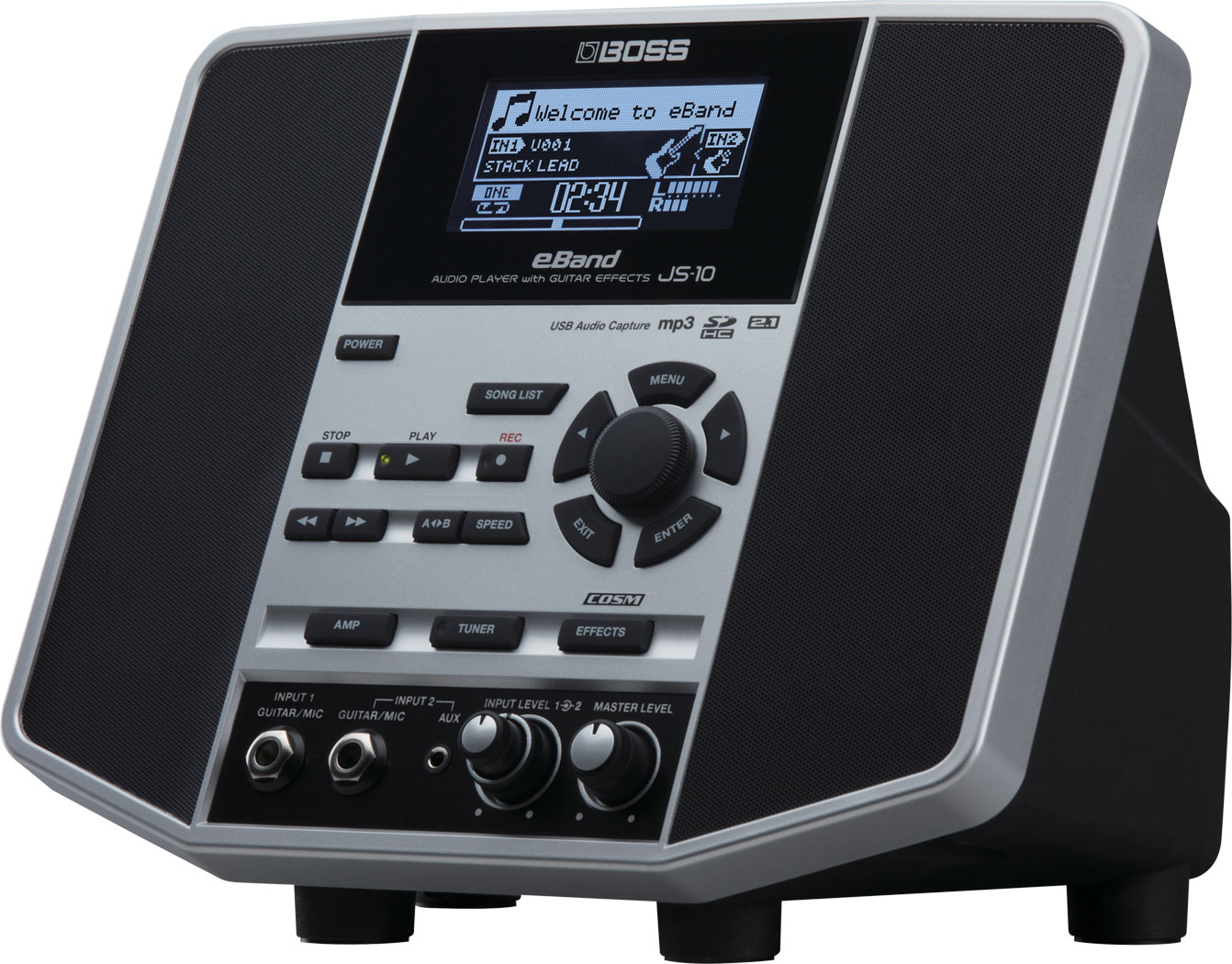 картинка Boss eBand JS-10 Audio Player with Guitar Effects от магазина Multimusic