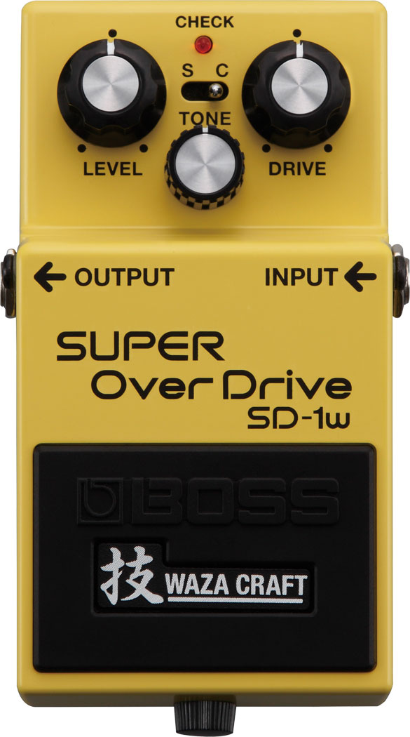 картинка Boss SD-1W Super OverDrive от магазина Multimusic
