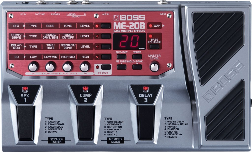 картинка Boss ME-20B Bass Multuple Effects от магазина Multimusic