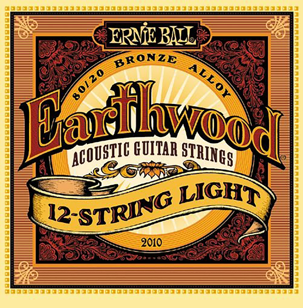 картинка Ernie Ball 2010 Earthwood 12-string Light 09-46 от магазина Multimusic