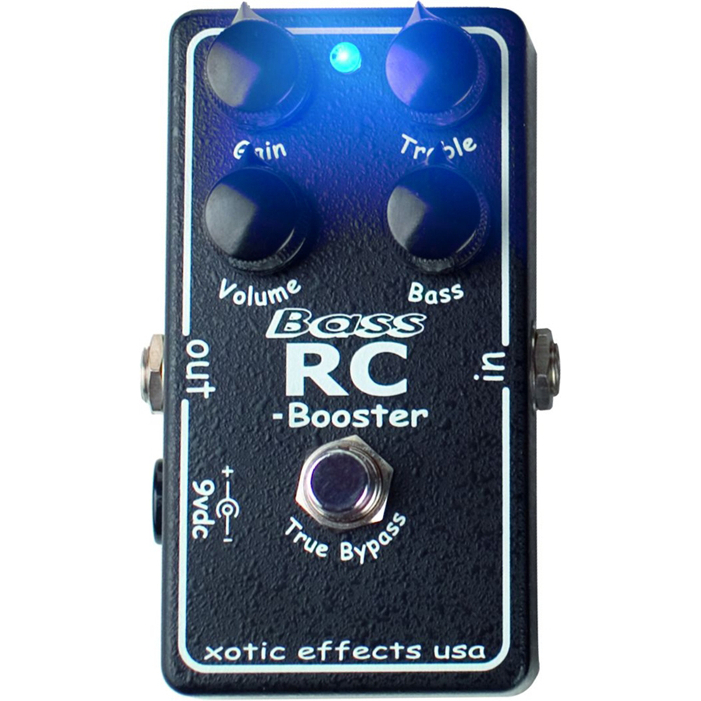 картинка Xotic Bass RC Booster от магазина Multimusic