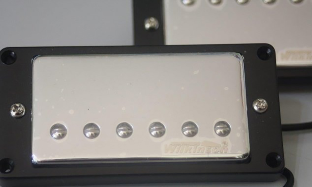 картинка Wilkinson WVCNB Humbucker Nickel Finish Bridge от магазина Multimusic