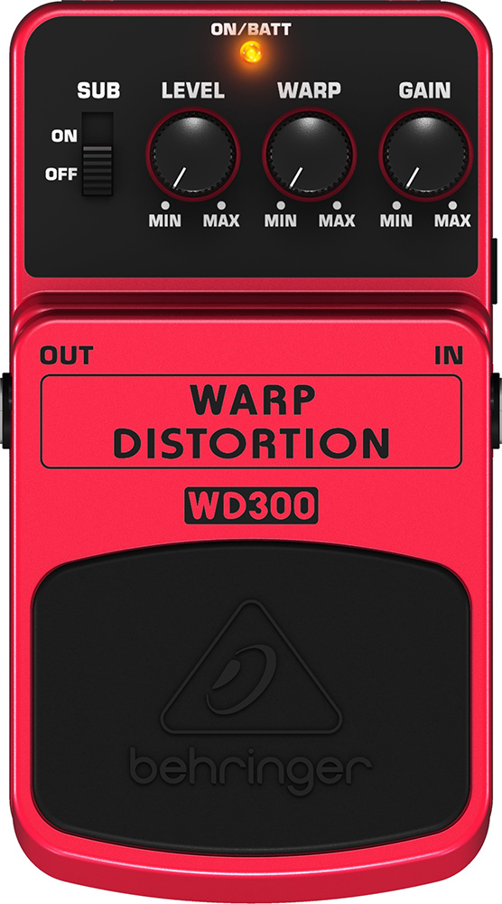 картинка Behringer WD300 Warp Distortion от магазина Multimusic