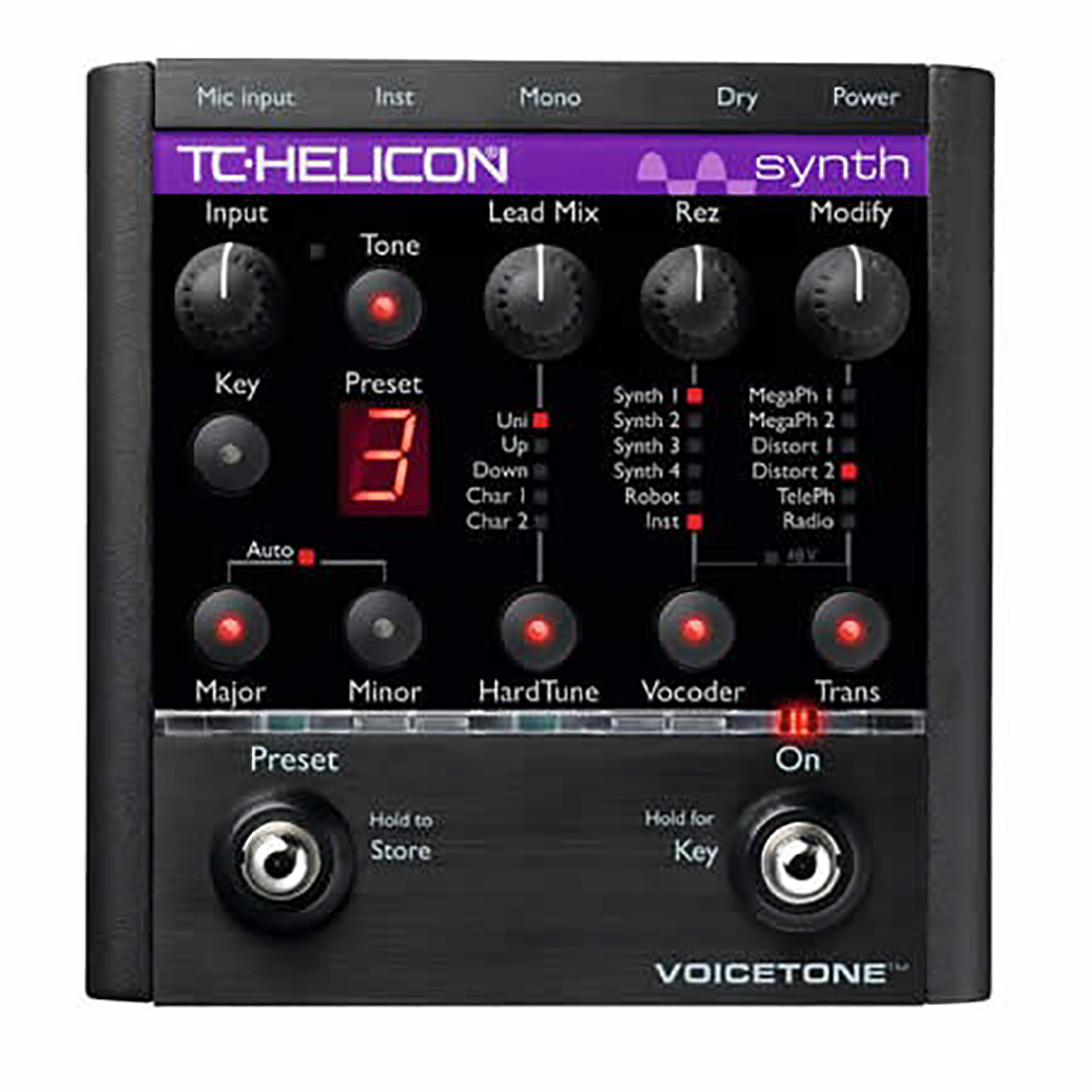 картинка TC Helicon Voice Tone Synth от магазина Multimusic