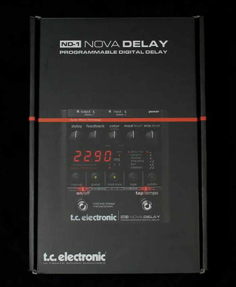 картинка TC Electronic ND-1 Nova Delay от магазина Multimusic